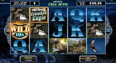 Untamed Crowned Eagle Slot Review, Play for Fun and collect your bonus, today!