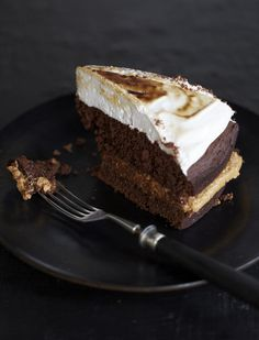 chocolate cake with peanut butter / sweet paul