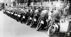 Riding Vintage article on the US Military Police astride their Harley-Davidson Motorcycles. Harley Davidson Wla, Harley Davidson History, Harley Davidson Motorcycles, Antique Motorcycles, British Motorcycles, Military Love, Military Police, Bike Rally, Motorcycle Images