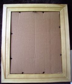 Kiwi gets Crafty: Home Framing: Lace Method Tutorial