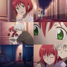 Akagami no Shirayuki - hime season 2 episode 2 - Zen & Shirayuki ♥ ♡ ♥