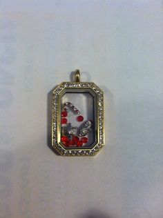 Origami owl. Holiday 2014! New Gold Heritage locket with Christmas charms..... Candy cane, snowflake, Santa owl and red stardust!!!!