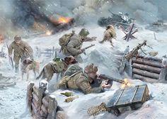 Myśliwce, zbiorniki, z psami, 1941-42gg. ponieważ dotkliwy brak czołgów, narzędzia wektor