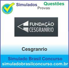 Boa noite Concurseiros, Estamos com mais de 1.800 questões da banca Cesgranrio. Aproveite!!!  http://simuladobrasilconcurso.com.br/questoes-de-concursos  Descubra!!! Compartilhe!!! Curta!!!  Muito Obrigado e Bons Estudos, Simulado Brasil Concurso  #SimuladoBrasilConcurso, #SimuladoCesgranrio