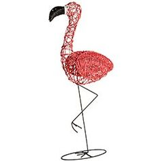 Flamingo Yard Decor Pier 1 -- i love pink flamingos!