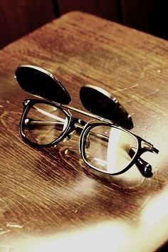 oliver-peoples-eyewear: Oliver Peoples | Hadley & Clip-on