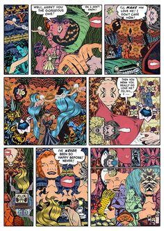 Spectacularly strange collaged comics by enigmatic illustrator Samplerman (Read more)