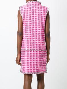 Chanel Vintage твидовое платье без рукавов