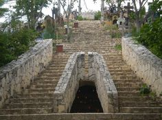 Mayan cemetary, Xcaret