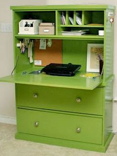 diy secretary desk- to replace my desk since we need more space