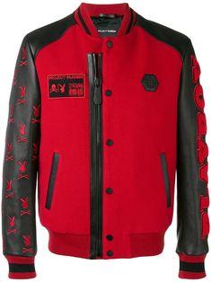 Philipp Plein Black/Red Playboy Logo Varsity Bomber Jacket Size 6 (S) - Tradesy Dope Swag Outfits, Dope Outfits For Guys, Edgy Outfits, Designer Jackets For Men, Playboy Logo, Mens Jogger Pants, Street Wear, Menswear, Man Stuff