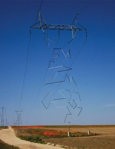 Transmission Tower, CA (power line tower)