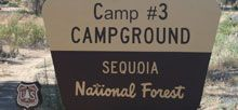Camp #3, Sequoia Natl Forest