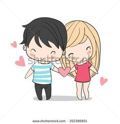 Find Lovely Girl Boy Valentines Day Love stock images in HD and millions of other royalty-free stock photos, illustrations and vectors in the Shutterstock collection. Cute Cartoon Girl, Cute Love Cartoons, Couple Cartoon, Valentines For Boys, Valentine Day Love, Love Qoutes For Boyfriend, Relationship Picture Quotes, Calligraphy Birthday Card, Couple Illustration