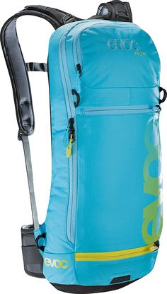 Evoc FR Lite Protector Hydration Pack >>> Quickly view this special outdoor item, click the image : Hiking backpack Best Hiking Backpacks, Outdoor Backpacks, Hydration Pack, Camping And Hiking, Cool Items, Outdoor Gear, Bag Design, Blue, Gears