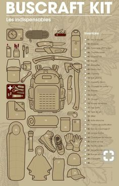 Bushcraft Kit Bushcraft Kit More from my site survival kits… Just incase a breaks out without yo… survival kits. Just incase a … Camping Survival Kits Bushcraft Kit, Bushcraft Camping, Bushcraft Projects, Bushcraft Skills, Camping Survival, Camping Gear, Camping Hacks, Backpacking, Camping List