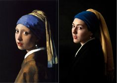 """""""The Girl With The Pearl Earring"""" by Johannes Vermeer"""