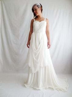 Wedding dress Boho wedding dress bohemian dress by AliceCloset