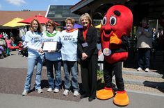 Great shot from the Kidney Walk held by the National Kidney Foundation of Central New York.
