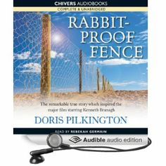 us film poster for rabbit proof fence follow the rabbit proof  cover design for audio book version of rabbit proof fence audible audio edition