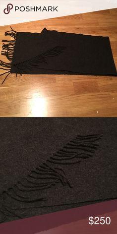 Canali cashmere scarf 100% Cashmere 66in by 14 in Super rare Canali Accessories Scarves
