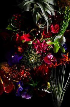 Makoto Azuma Creates Sparkly Floral Sculptures #calendar trendhunter.com