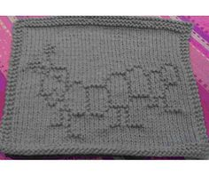 Free Knitting Pattern - Dishcloths & Washcloths : Caterpillar Cloth