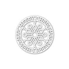 Simon Says Stamp: Christmas Token Wafer Die SSSD111506 Create Joy - $14.99