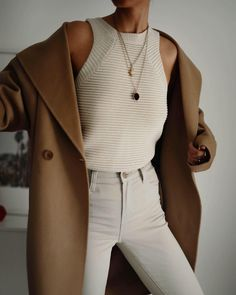 Mode Outfits, Fall Outfits, Casual Outfits, Fashion Outfits, Everyday Outfits, Everyday Fashion, Mantel Outfit, Looks Street Style, Minimalist Fashion