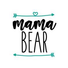 Silhouette Design Store: mama bear arrows