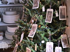 Memory Christmas Tree - pictures of those no longer with us