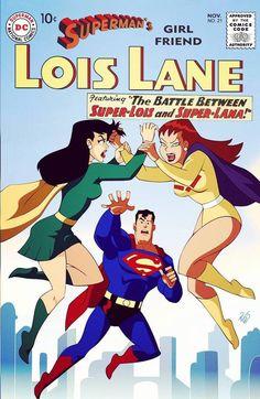 Explore the DC Cartoon Designs collection - the favourite images chosen by MOMOpJonny on DeviantArt. Superhero Costumes Female, Superman Story, Saturn Girl, Superman Man Of Steel, Batman The Animated Series, Super Cat, G Man, Lois Lane, Dc Comics Characters