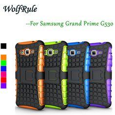 For Samsung Grand Prime Case Anti-knock Silicone & Plastic Phone Case For Samsung Galaxy Grand Prime Cover G530H G531H G531F #<