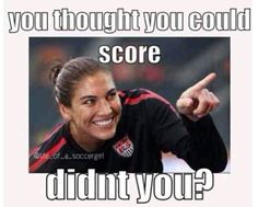 #USWNT - Hope Solo #1  love her