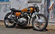Image result for 1972 honda cb350 cafe racer