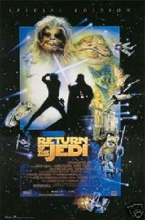 Star Wars Return of the Jedi Poster - 24 x 36 - FREE SHIPPING $15.00