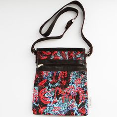 Over Print Mini Sahara Sling Bags available online at www.carolenevin.com