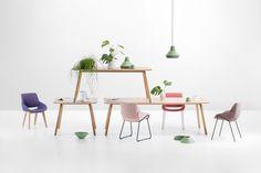 Der Prostoria Sessel Monk hat die Kurve raus!  #Sessel #armchair #hocker #Wohnzimmer #livingroom #furniture #home #interior #interiordesign #einrichten #einrichtung #modern