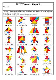 Chez Maicresse Karine: Résultats de recherche pour tangram
