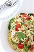 Chicken BLT (or Bacon, Spinach & Tomato) Pasta Salad - Cookin' Canuck's Printable Recipes