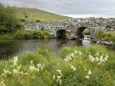 Quiet Man Bridge, Near Maam Cross, Connemara, County Galway, Connacht, Republic of Ireland