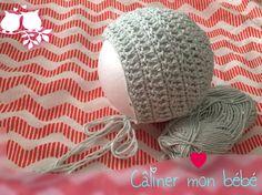 Capota bébé crochet