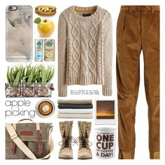 """Harvest Time: Apple Picking"" by barbarela11 ❤ liked on Polyvore featuring Vetements, Joules, Steve Madden, Cathy's Concepts, Casetify, Abyss & Habidecor, Urban Outfitters and BigMouth"
