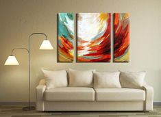 Abstract Painting, Paintings on Canvas, Large Wall Art Painting Set of Fine Art Painting, Abstract Oil Painting, Living Room Painting Large Abstract Wall Art, Large Canvas Wall Art, Oil Painting Abstract, Canvas Art Prints, Large Art, Painting Canvas, Three Piece Wall Art, 3 Piece Art, Living Room Paint