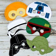 Star wars mask set / Party favors by MyWonderlandBoutique on Etsy