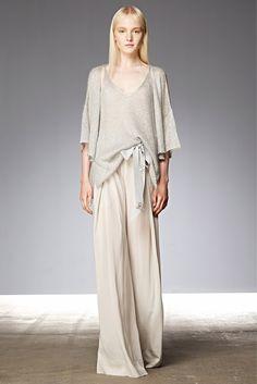 Donna Karan Resort 2015 Fashion Show - Maja Salamon