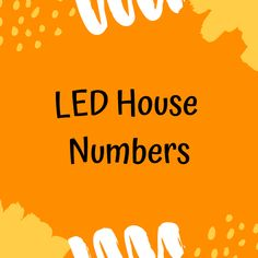 A Bright Idea For Your Home. Led House Numbers, House Address Sign, Family Outing, House Entrance, House Improvements, Family Quotes, Organization Hacks, House Furniture, Home Projects