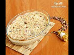 Om Ali with Cream and Nuts أم علي بالقشطة والمكسرات