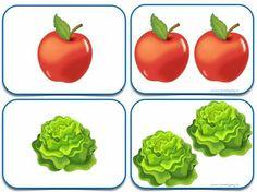 Plurals Worksheets, Printable Preschool Worksheets, Preschool Games, Classroom Activities, Singular And Plural, Working With Children, Kindergarten Math, Fruits And Vegetables, Speech Therapy