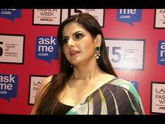 Zarine Khan in Gauri Khan's design at Lakme Fashion Week | Day 3